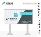 company bill board design... | Shutterstock .eps vector #1050211613