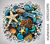 cartoon vector doodles...   Shutterstock .eps vector #1050216590