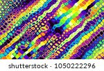 abstract digital art fractal...   Shutterstock . vector #1050222296