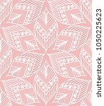 seamless lace pattern made of... | Shutterstock . vector #1050225623