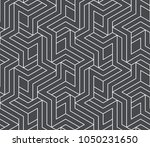 abstract geometric pattern with ... | Shutterstock .eps vector #1050231650