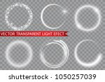 glow light effect. circular... | Shutterstock .eps vector #1050257039