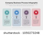 vector infographic for company...   Shutterstock .eps vector #1050273248