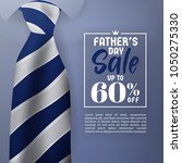 father's day sale promotion... | Shutterstock .eps vector #1050275330