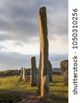 callanish stone circle on the... | Shutterstock . vector #1050310256