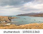 natural harbour at aird asaig... | Shutterstock . vector #1050311363