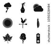 tasty vegetable icons set.... | Shutterstock .eps vector #1050328484