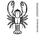 vector monochrome illustration...   Shutterstock .eps vector #1050339056