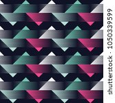 seamless geometric pattern. the ... | Shutterstock .eps vector #1050339599