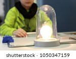 electricity project for kids... | Shutterstock . vector #1050347159