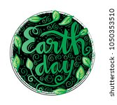 earth day concept design | Shutterstock .eps vector #1050353510