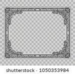decorative vintage frames and... | Shutterstock .eps vector #1050353984
