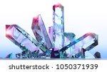 mineral formation  minerals ... | Shutterstock . vector #1050371939