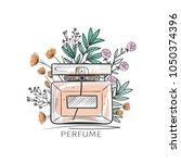 Illustration Of Woman Perfume...