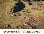 the fairy glen on the isle of... | Shutterstock . vector #1050378980
