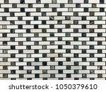 stone brick wall textured...   Shutterstock . vector #1050379610