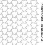 seamless vector ornament.... | Shutterstock .eps vector #1050382880