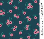 fashion seamless pattern with... | Shutterstock . vector #1050391409