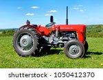 bratton  wiltshire  uk   april... | Shutterstock . vector #1050412370
