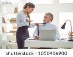 relations between colleagues.... | Shutterstock . vector #1050416900