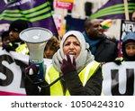 london  uk. 17th march 2018.... | Shutterstock . vector #1050424310