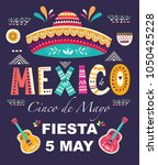 beautiful vector illustration... | Shutterstock .eps vector #1050425228