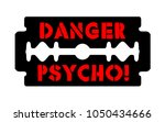 stainless blade with text... | Shutterstock .eps vector #1050434666