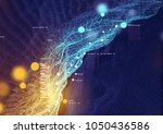 visual data and information... | Shutterstock . vector #1050436586