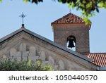 urban landscape in teggiano ... | Shutterstock . vector #1050440570