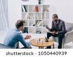 african american psychiatrist...   Shutterstock . vector #1050440939