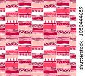 ethnic and tribal geometrical... | Shutterstock .eps vector #1050444659