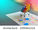 ecommerce shopping and market... | Shutterstock . vector #1050461216