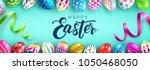 easter day web banner... | Shutterstock .eps vector #1050468050
