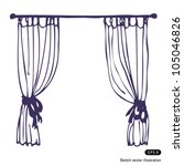 CURTAIN FREE VECTOR IMAGE - Download at Vectorportal