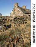 abandoned croft of easter...   Shutterstock . vector #1050481706