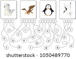 educational puzzle game for... | Shutterstock .eps vector #1050489770
