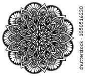mandalas for coloring book....   Shutterstock .eps vector #1050516230