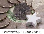 a quarter of missouri  quarters ... | Shutterstock . vector #1050527348