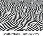 vector abstract op art. water... | Shutterstock .eps vector #1050527999