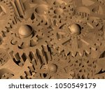 Rustic Different Gears.3d...
