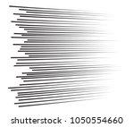 comic speed lines background...   Shutterstock .eps vector #1050554660