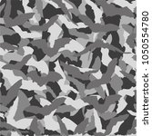 camouflage for printing. the... | Shutterstock .eps vector #1050554780