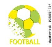football championship.... | Shutterstock .eps vector #1050554789