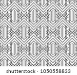vector seamless geometric...   Shutterstock .eps vector #1050558833