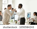 multiracial african and... | Shutterstock . vector #1050584243
