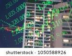 financial data in term of a... | Shutterstock . vector #1050588926