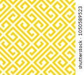 geometric yellow seamless... | Shutterstock .eps vector #1050589523