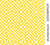 geometric yellow seamless... | Shutterstock .eps vector #1050589529