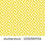 geometric yellow seamless... | Shutterstock .eps vector #1050589556