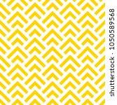 geometric yellow seamless... | Shutterstock .eps vector #1050589568